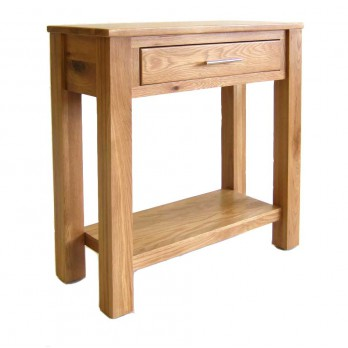 Small Oak Hall Table