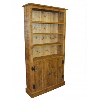 Rough Sawn Bookcase + Doors