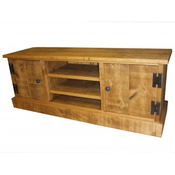 Rough Sawn Wide TV Unit