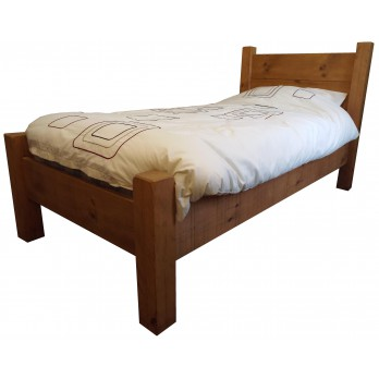Rough Sawn Bed From