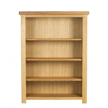 Eleanor Oak Low Bookcase