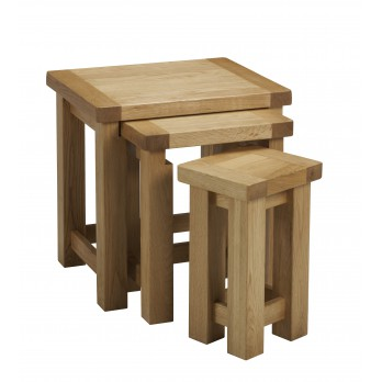 Eleanor Oak Nest of Tables