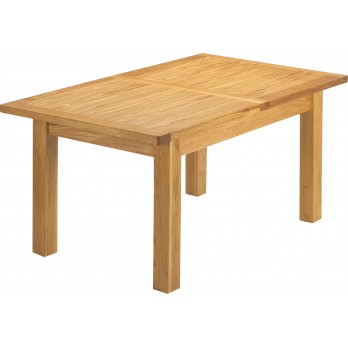 Eleanor 1300 Extending Oak Dining Table
