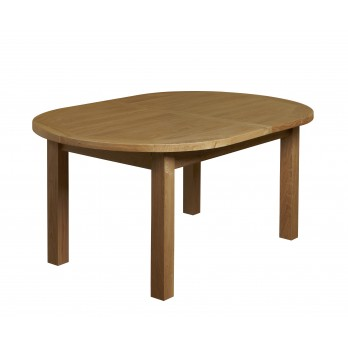 Eleanor Oak Oval Extending Table