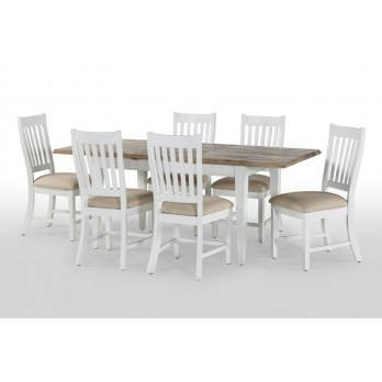 Timeless Extending Table with Matching Chairs @ £139ea.