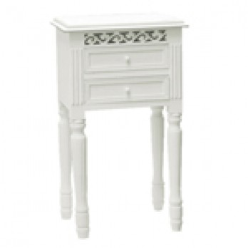 Snowdrop2 Drawer Side Table