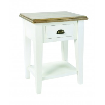Timeless Bedside Table with Drawer