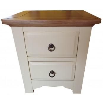 Suffolk 2 Drawer Bedside