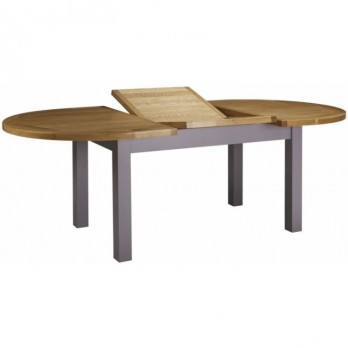 Bretagne Oak Oval Extending Table