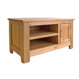 Oak TV Unit Small