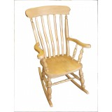 Slatted Rocking Chair