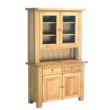Eleanor Oak Glazed Dresser