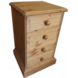 Derby 4 Drawer Bedside Chest, click to view more hight options