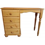 Julie Pine Single Dressing Table