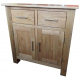 SJ Oak Mini Sideboard