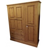 Cottage Triple Wardrobe