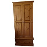 Cottage Pine Extra-tall Wardrobe