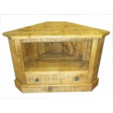Rough Sawn Corner TV unit