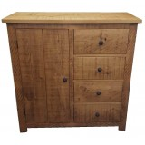 Rough Sawn Combi Chest