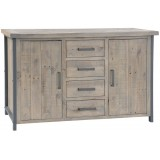 Forge Collection 4 Drawer Sideboard