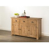 Hartley Solid Oak Large Sideboard
