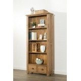 Hartley Solid Oak Bookcase