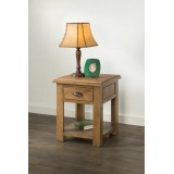 Hartley Solid Oak Lamp Table