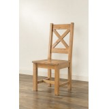 Hartley Solid Oak Chair