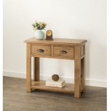 Solid Oak Console TableHartley