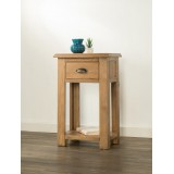 Hartley Solid Oak Console Table