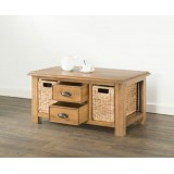 Hartley Solid Oak Coffee Table