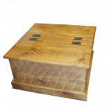 Rough Sawn Coffee Chest