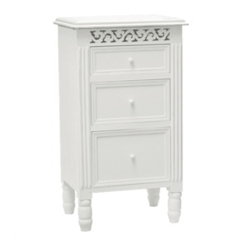 Finewood Studios Furniture Ltd Snowdrop Small 3 Drawer Chest P184